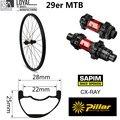 DT Swiss 240 хаб Sapim CX Ray Spoke 29er углеродное колесо для горного велосипеда XC MTB Колесная бескамерная готовая супер легкая