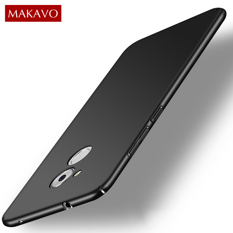 MAKAVO For <font><b>Huawei</b></font> Honor 6c <font><b>Case</b></font> 360 Full Protection Matte Fundas Hard Plastic Housing Slim Back Cover For <font><b>Nova</b></font> <font><b>Smart</b></font> <font><b>Phone</b></font> <font><b>Cases</b></font>