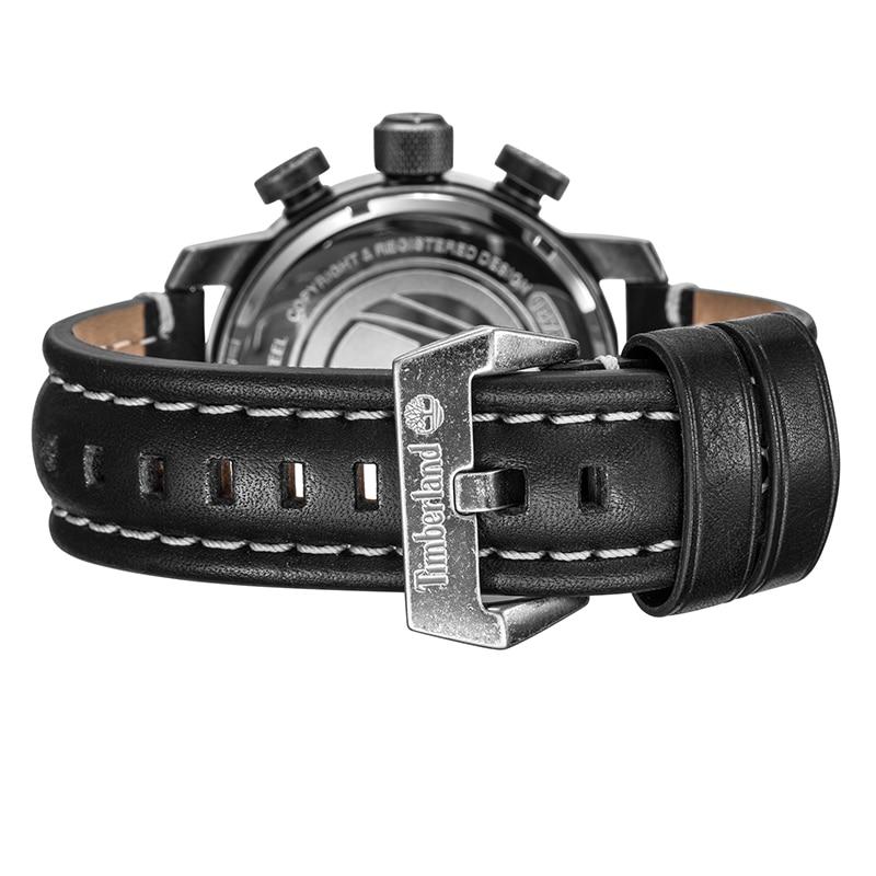Timberland Original Mens Watches Top Brand Luxury Outdoor Sport Casual Quartz Leather Calendar Water Resistant Men Watch T14783 4