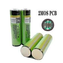 2018 оригинальный аккумулятор LiitoKala 18650 3400 мАч 3,7 в, литий-ионная аккумуляторная батарея с защитой печатной платы, фонарик 18650B18650 3400