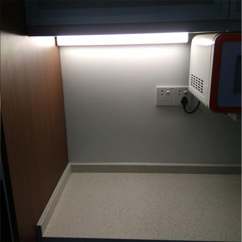barre lumineuse led 40cm 50cm 220v 3 eclairage lateral pour salle de bain armoire table de toilette murale 8w 22w placard de cuisine