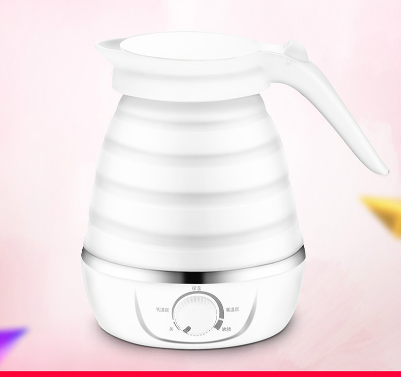 NEW Travel electric kettle portable mini folding automatic heat insulationNEW Travel electric kettle portable mini folding automatic heat insulation