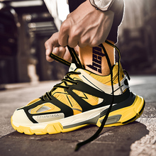 New Stylish Mens Running Balancia Shoes Increasing INS Track 3.0 Male 2019 Sneakers Platform Breathable Wave Sports Walking
