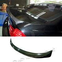Высочайшее качество E90 M TECH Стиль стайлинга автомобилей углеродного волокна задний спойлер багажник губы загрузки крыла Спойлер для BMW E90