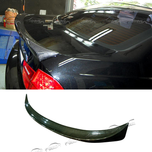 Top quality E90 M-TEC Car Styling Carbon Fiber Rear Spoiler Car Trunk Lip Boot Wing Spoiler for BMW E90