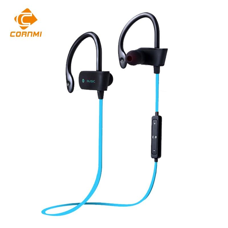 ФОТО CORNMI Bluetooth 4.0 Headset Wireless Stereo Sport Earphone Music  Headhone Sweatproof For iPhone For Samsung Xiaomi