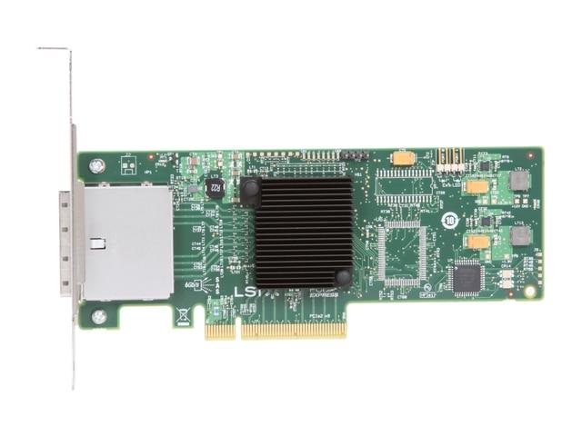 RaidStorage Avago LSI SAS 9200 8E LSISAS2008 8 port HBA JBOD SFF8088 Mini SAS 6Gb PCI