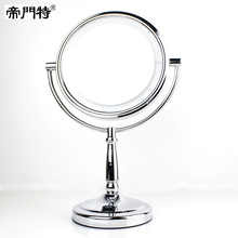 8 inch led lighting mirror desktop double faced makeup mirror married vanity mirror 8903