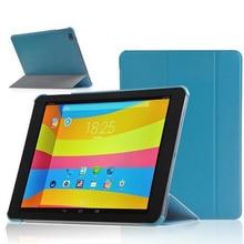 """Ocube Lujo Tri-fold Magnético Ultra Delgado Folio Del Soporte de LA PU Cubierta de cuero Para El Cubo Talk 9X U65GT TALK9X 9.7 """"Tablet"""