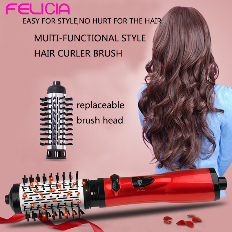 Professional Fast Heating 2 in 1 hair straightening and