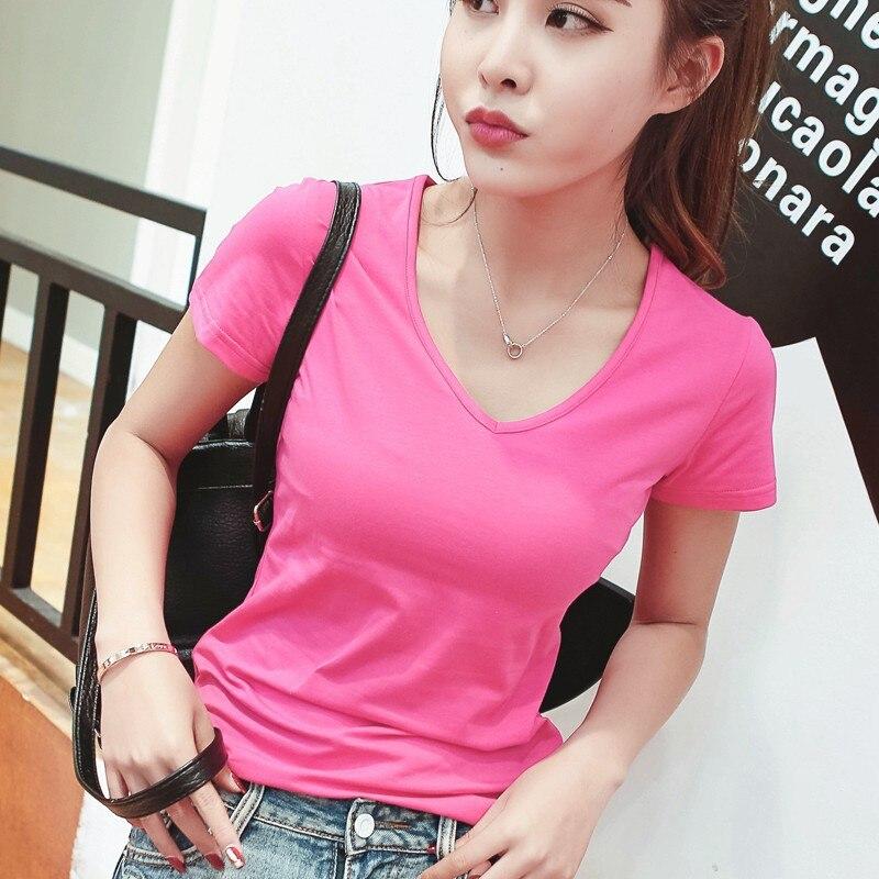 Patchwork de encaje de tres cuartos de manga camiseta Femme Camisetas Feminina nuevo estilo M3