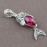 S925 sterling silver silver wholesale antique style female BRACELET HANDMADE accessories