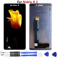 Original For Nokia 6.1 LCD Display for nokia 6 screen TA 1043 TA 1045 TA 1050 TA 1054 LCD Display Touch Screen Assembly repair