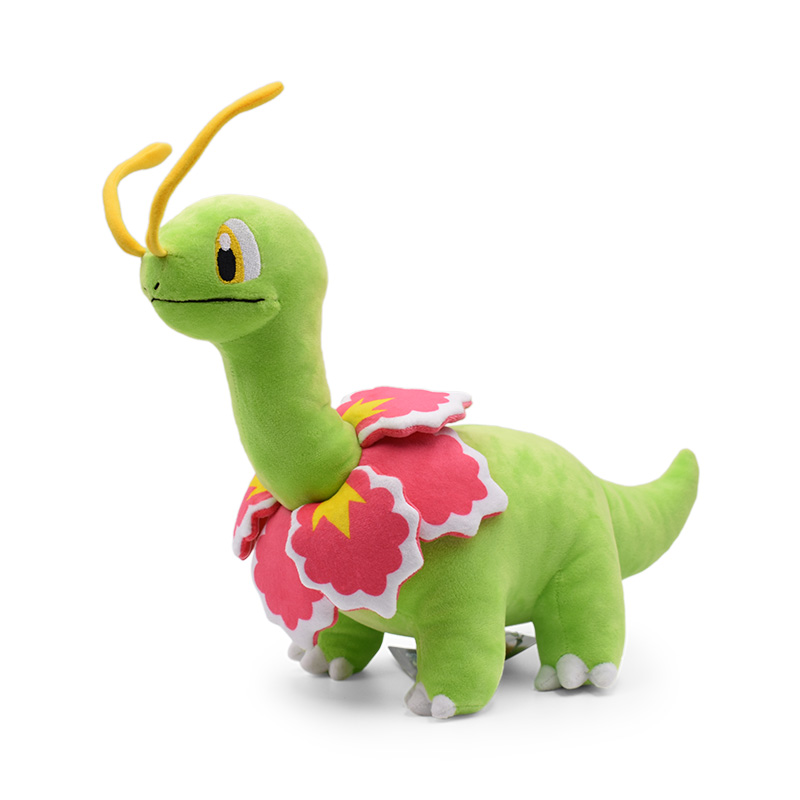 Good Quality 33cm Plush Toy Pikachu Series Meganium Pocket Cute Soft Stuffed Dolls For Kids Christmas Gift Animal Plush Dolls