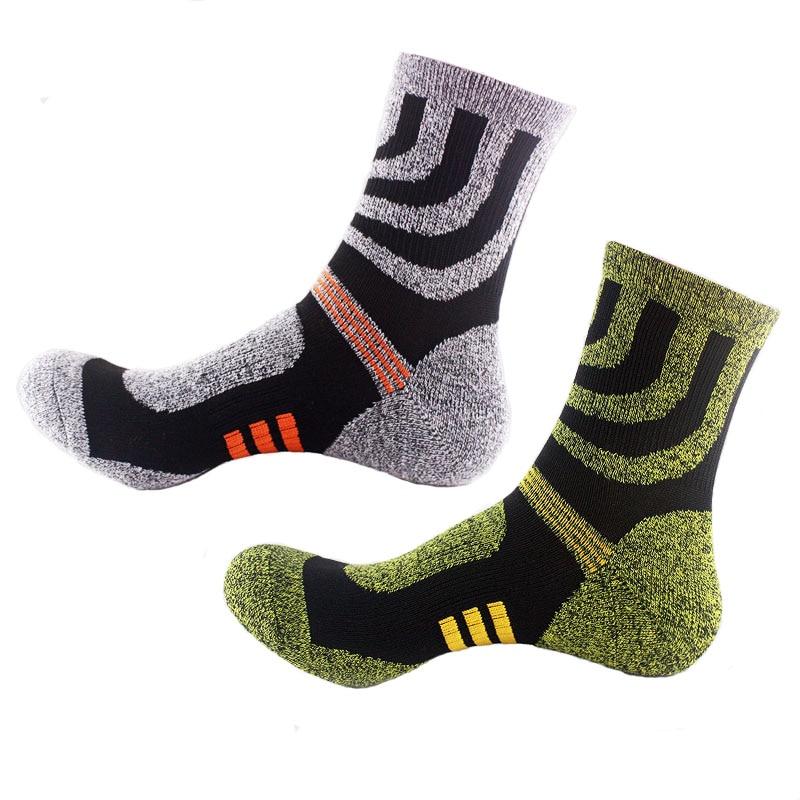 Moške zimske nogavice dolge modne nogavice udobne poliestrske tople dih visoke kakovosti 2016 novo obliko deodorant moške priložnostne nogavice jesen