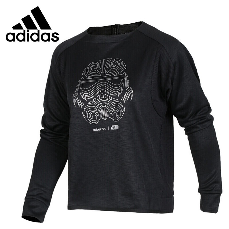 Original New Arrival 2017 Adidas NEO Label W SW SWEATSHIRT Women's Pullover Jerseys Sportswear original new arrival 2017 adidas neo label m sw tee men s t shirts short sleeve sportswear