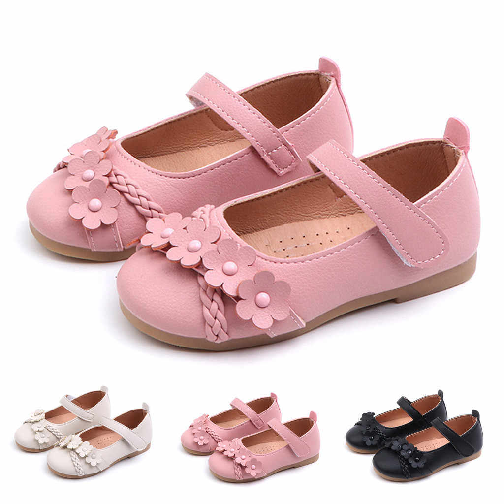 SAGECE Floral Girl Shoes Spring For Kids Girl Princess Single Shoes For Kids  Casual Shallow Fitness Babies Girls Shoes
