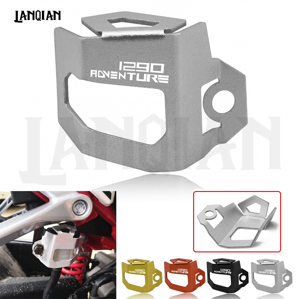 For KTM 1050 1190 ADVENTURE 1290 SUPER ADV R S T Motorcycle Accessories Rear Brake Fluid Reservoir Guard Oil Cap Cover Protect in Covers Ornamental Mouldings from Automobiles Motorcycles