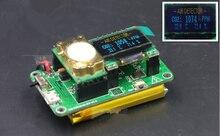 Детектор двуокиси углерода СО2 T67x3 0.96 дюймов OLED с литиевой батареей с температуры и влажности + OLED