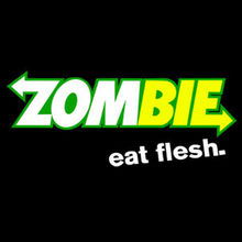 ZOMBIE EAT FLESH T SHIRT, SHIRT,SUBWAY PARODY HOODIE/T SHIRT New Shirts Funny Tops Tee Unisex