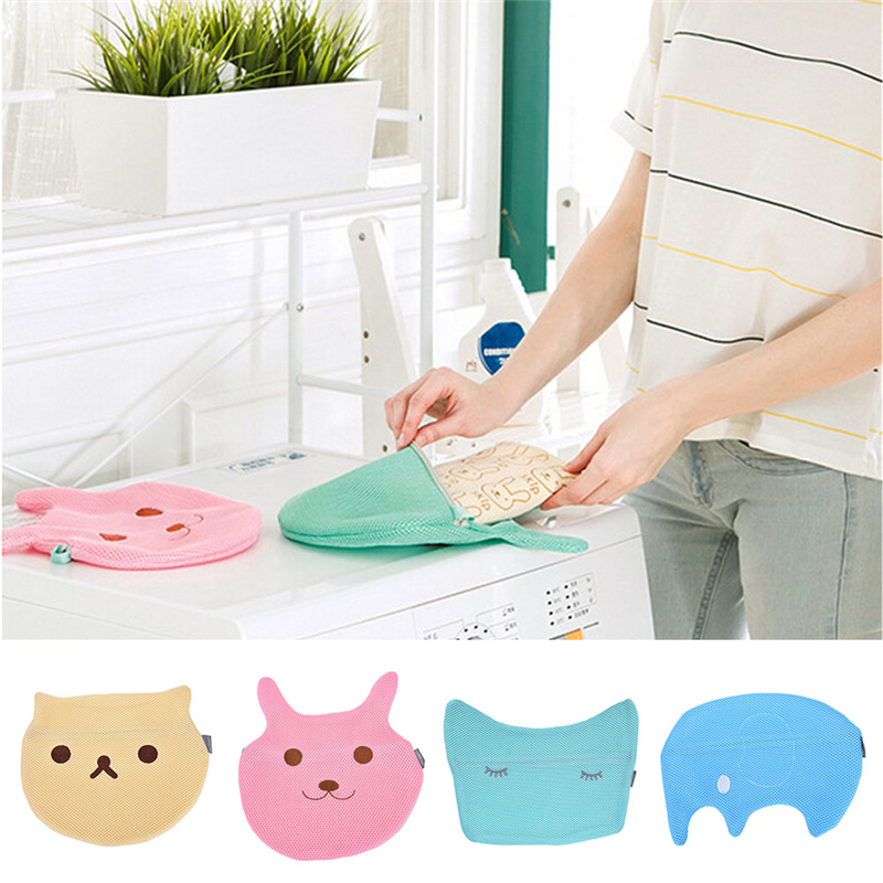 Cute Laundry Bags aliexpress : buy new 1pcs women bra laundry bags cute animal