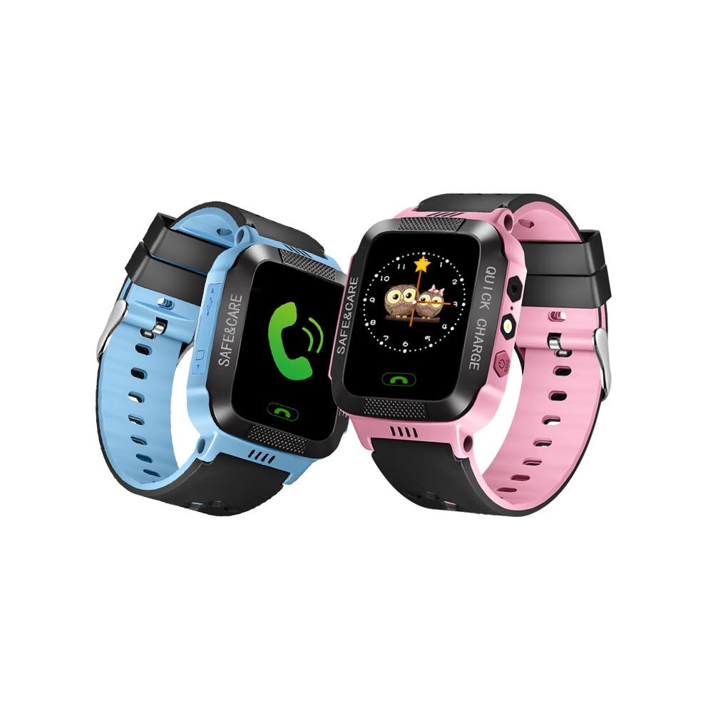 Y21 Smart Watch Kids GPS Anti Lost Child Tracker Bluetooth Watch Android Smart Bracelet For Children Smart Baby Watch Sim Card холодильник shivaki bmr 2013dnfw двухкамерный белый
