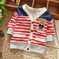 2016 New Winter Boy Sweaters Kids Cotton cartoon sweater children sweater kids cardigan knitted sweater Outerwear Clothing
