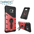 Directopia dual layer armadura escudo protetor telefone à prova de choque com 360 graus kickstand case capa para samsung galaxy s7 case