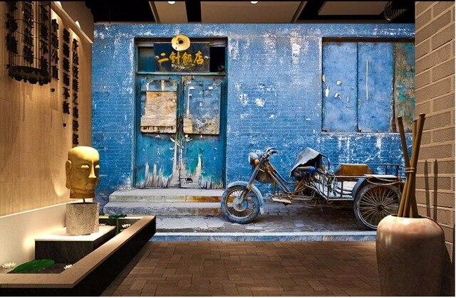 3d Woonkamer Ontwerpen : Custom photo ontwerpen 3d muurschilderingen behang vintage boer