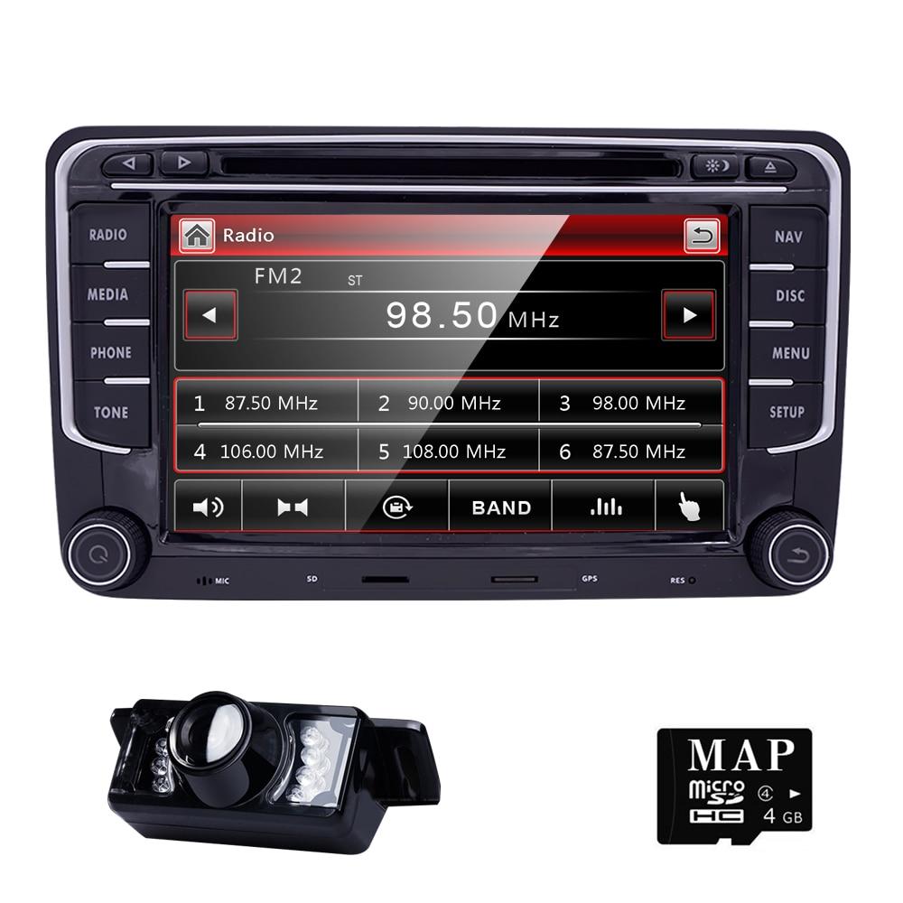 AutoRadio 2 din Lecteur DVD de Voiture pour VW PASSAT B6 T5 Volkswagen SKODA OCTAVIA 2 3 Seat Leon Golf 5 6 Amarok POLO JETTA TIGUAN NAVI