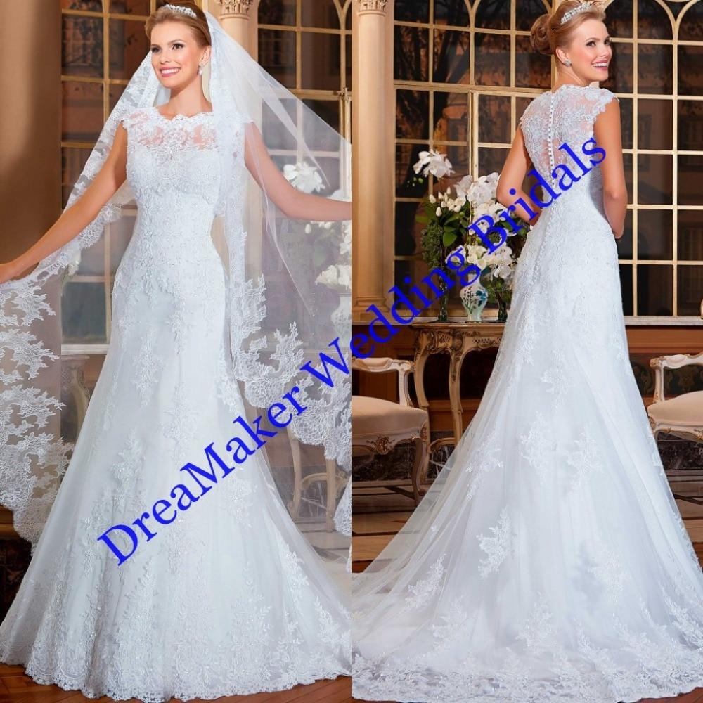 Custom-Made-Wedding-Dresses-Beautiful-Mermaid