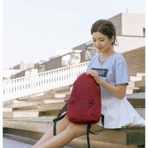 Image 2 - الأصلي شاومي حقيبة الكتف 10L165g حقيبة الصدر الرياضية غير رسمية مناسبة للرجال/النساء حجم صغير حقيبة الكتف حقيبة ملونة