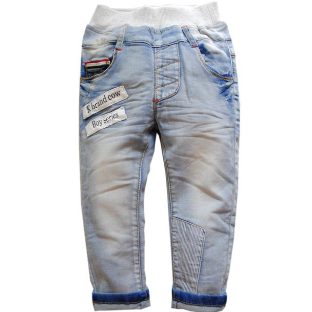 6292 primavera suave jeans BEBÉ NIÑOS NIÑO NIÑAS pantalones de moda luz azul moda de NUEVA PRIMAVERA y OTOÑO