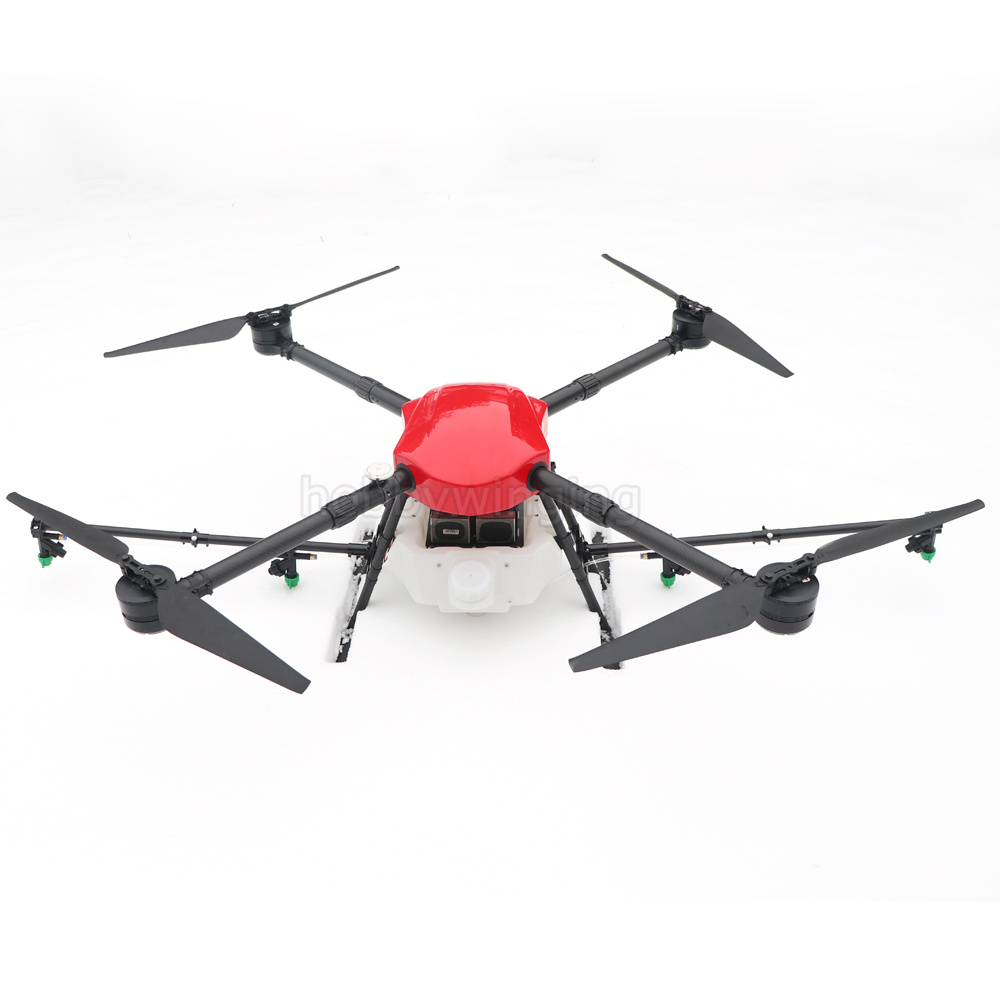 2018 New 4-axis Spray Agriculture drone w/ 10KG/10L spraying pump system 1300mm Wheelbase Waterproof body Folding UAV Quadcopter lx pump ea320 ea350 pump wet end pump body