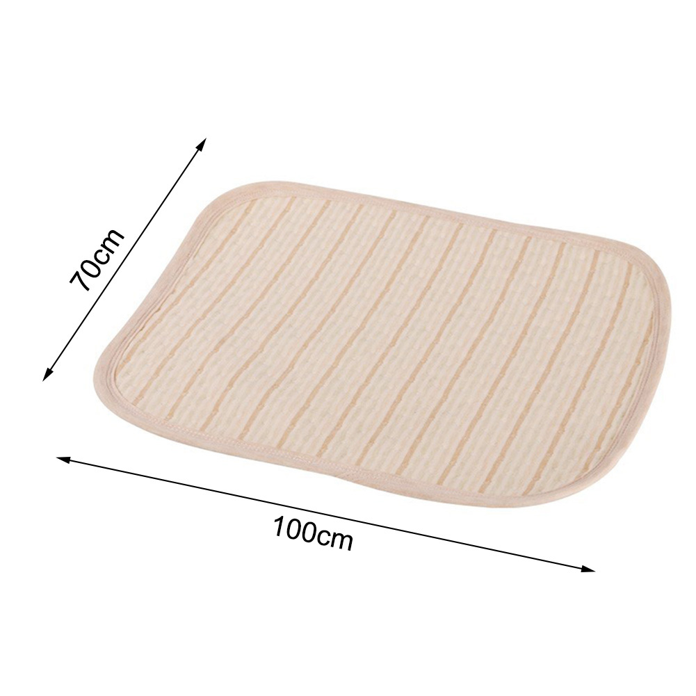 Cotton Waterproof Bed Sheet Incontinence Pad Mattress Protector for Toddler Adult Reusable Baby Kids Diapering Changing Mat 1