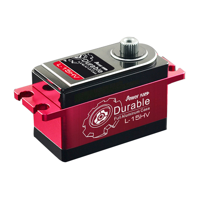 Power HD L-15HV Metal Digital Servo For 1/10 Racing On-Road Off-Road RC Car mot irf230 to 3