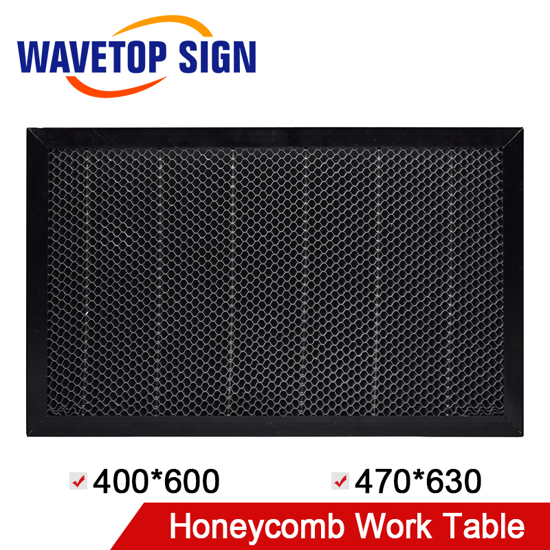 WaveTopSign Honeycomb Working Table 400*600 470*630mm Size Board Platform Laser Parts For CO2 Laser Engraver Cutting Machine