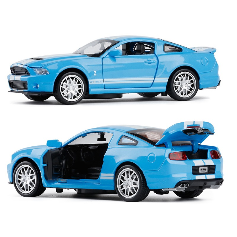KD (1/32) DieCasts Toys Car Convertible Sport Car Metal Body Collective Car Engine Sounds. Acousto Optic 4 Openable Doors