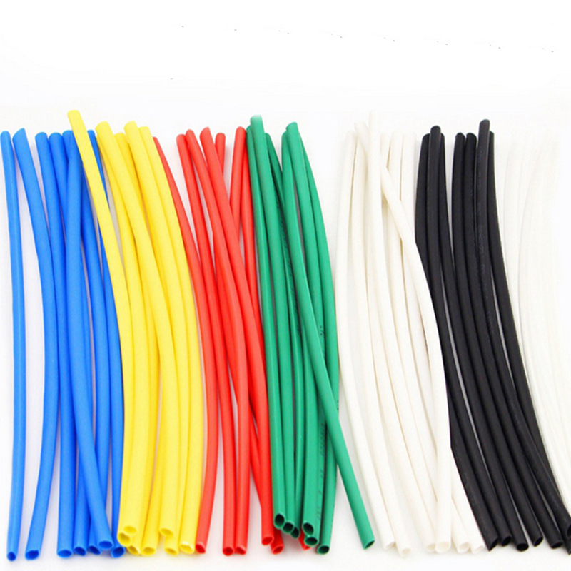 Total 208Pcs 1MM 2MM 2.5MM 3MM 4MM Heat Shrink Tube Tubing Sleeving Wrap Wire Cable HeatShrinkable 2mm 2 1 heat shrink tube tubing sleeve sleeving wrap wire red 20m length