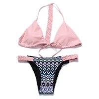 Sexy Bikini 2018 New Style Summer Bandage Bikinis Set Swimwear Women Swimsuit Brazilian Biquini Beach Wear
