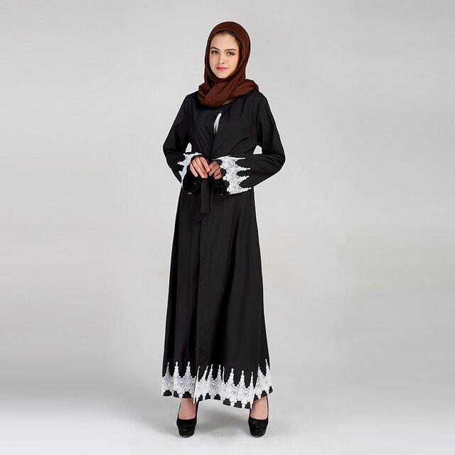 Femmes 2017 Arabe Islamique Malaisie Caftan Robes Abaya Dames Ox8gfwx