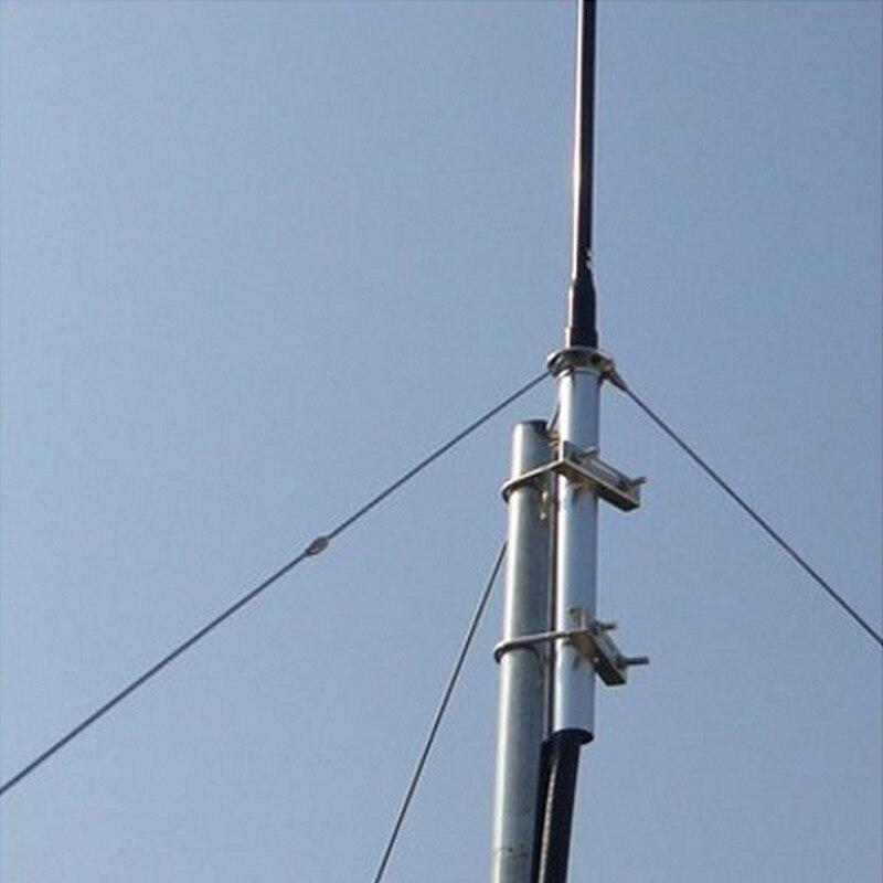 En gros 1/4 Vague En Aluminium GP Antena avec 8 m/15 m Câble FM de Radiodiffusion FM Antenne