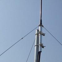 Wholesale 1/4 Wave Aluminum GP Antena with 8m/15m Cable FM Broadcasting FM Antenna