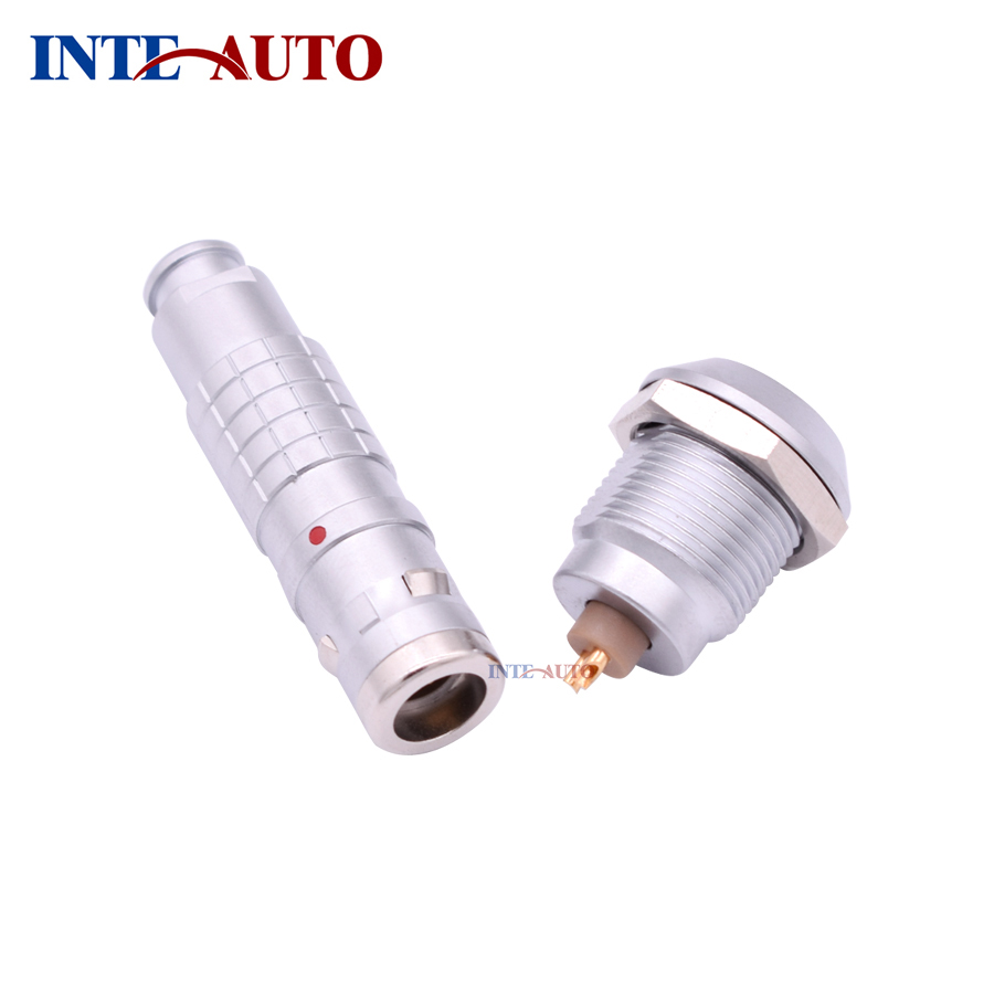 Cross Lemo Waterproof connector, IP 68 metal connector, 0K series circular cable plug and wire socket FGG.0K.302 EGG.0K.302 lemo connectors3 pin plug fgg 1b 302 clad circular metal plug self locking connector lemo connector b series