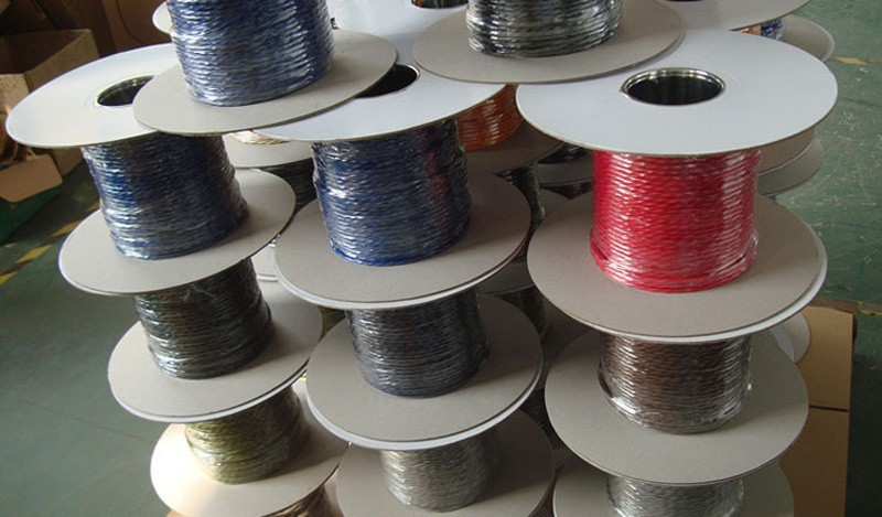 FREE Shipping 50mlot 2x0.75mm Textile Electrical Wire Color Braided Wire Fabric Covered Electrical Power Cord Fabric Wire (7)