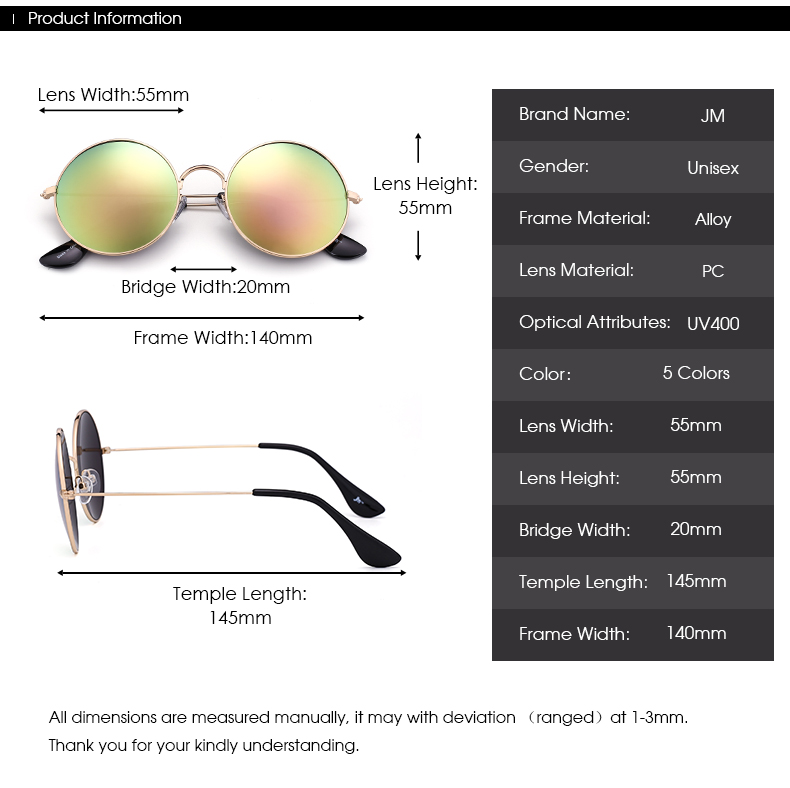 Ezra - Jim Halo Sunglasses