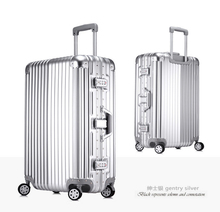 """2016 20, 24, 26, 29"""" European standards Aluminum Frame & PC Trolley Luggage Travel Rolling Suitcases Rolling Luggage For Sale"""