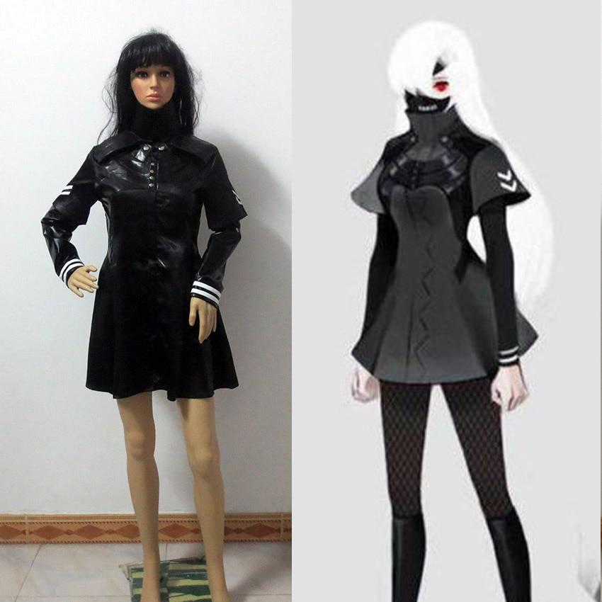 Tokyo Ghoul Cosplay Costume Women female Ken Kaneki ...