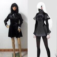 Tokio Ghoul Kaneki Ken Cosplay Mujeres femenina Uniforme Anime Disfraces de Halloween para las mujeres niñas