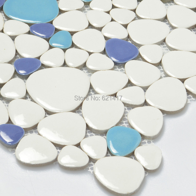 Four Color Multicolor Ceramic Porcelain Mosaic Tiles Backsplash